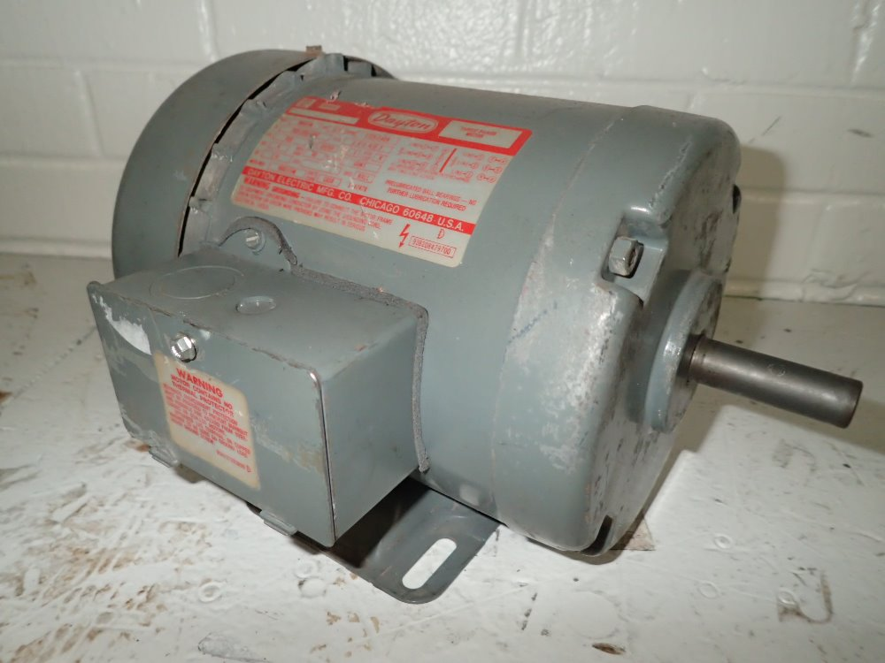 Used Dayton Motor Hgr Industrial Surplus