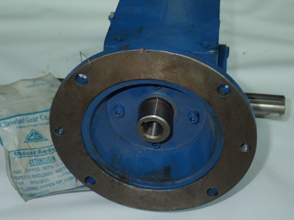 Used cleveland gear gear reducer hgr industrial surplus Cleveland motors inc