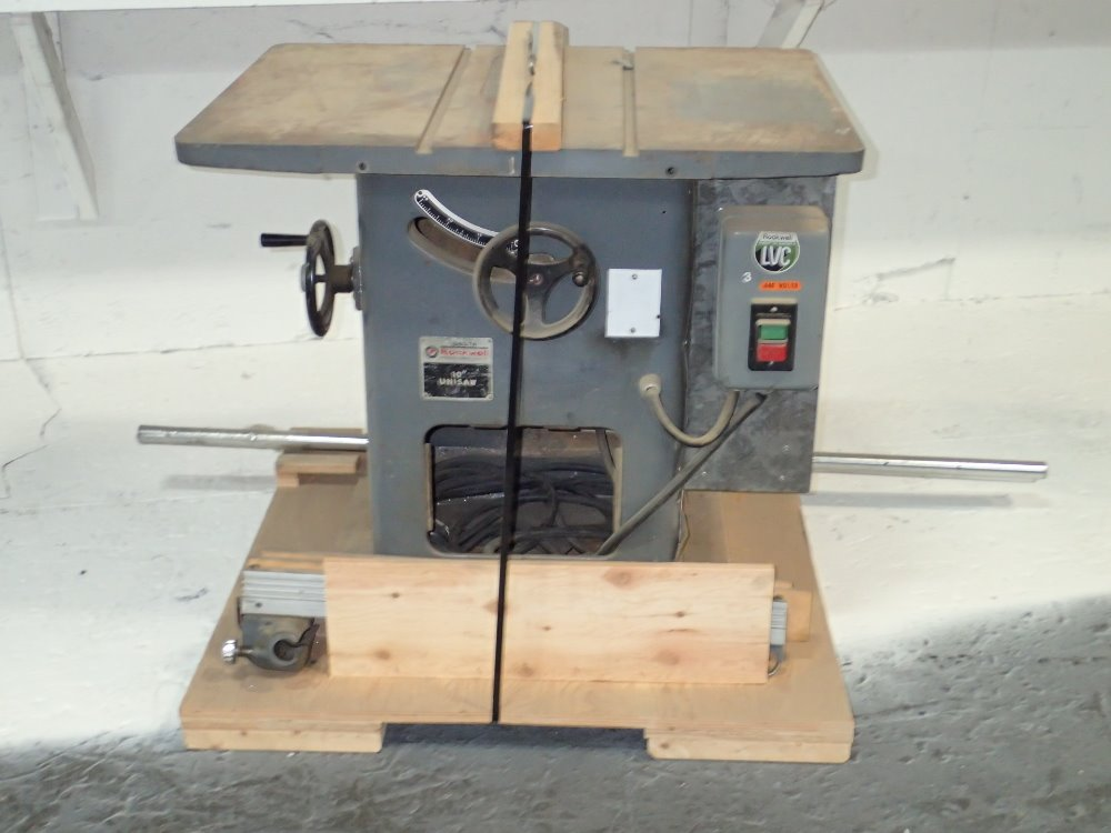 Used delta rockwell table saw hgr industrial surplus Used table saw