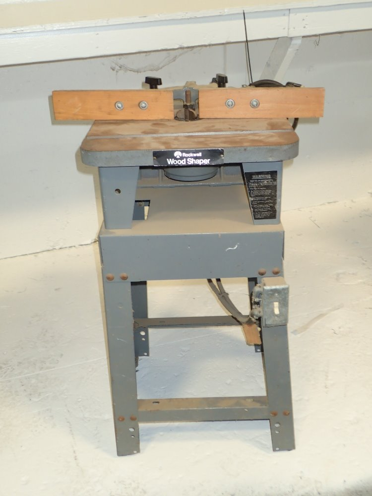 Used Rockwell Wood Shaper | HGR Industrial Surplus