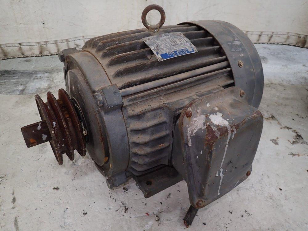 Used Westinghouse Teco Motor Hgr Industrial Surplus