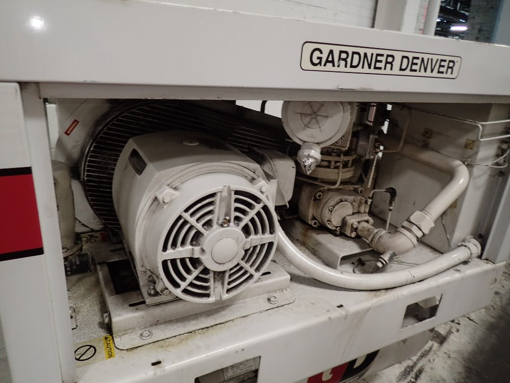 Used gardner denver air compressor hgr industrial surplus for Gardner inc