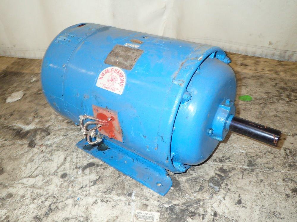 Used Howell Motor Hgr Industrial Surplus