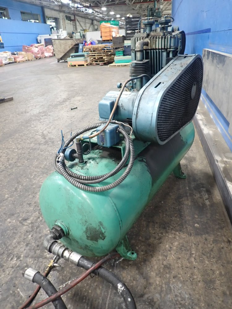 Quincy 5z361a Quincy 5z361a Air Compressor 5 Hp