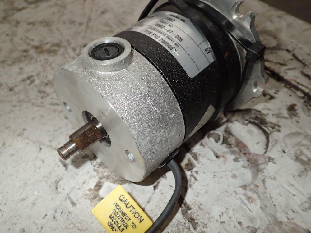 Used electrocraft servo motor hgr industrial surplus for Electro craft corporation dc motors