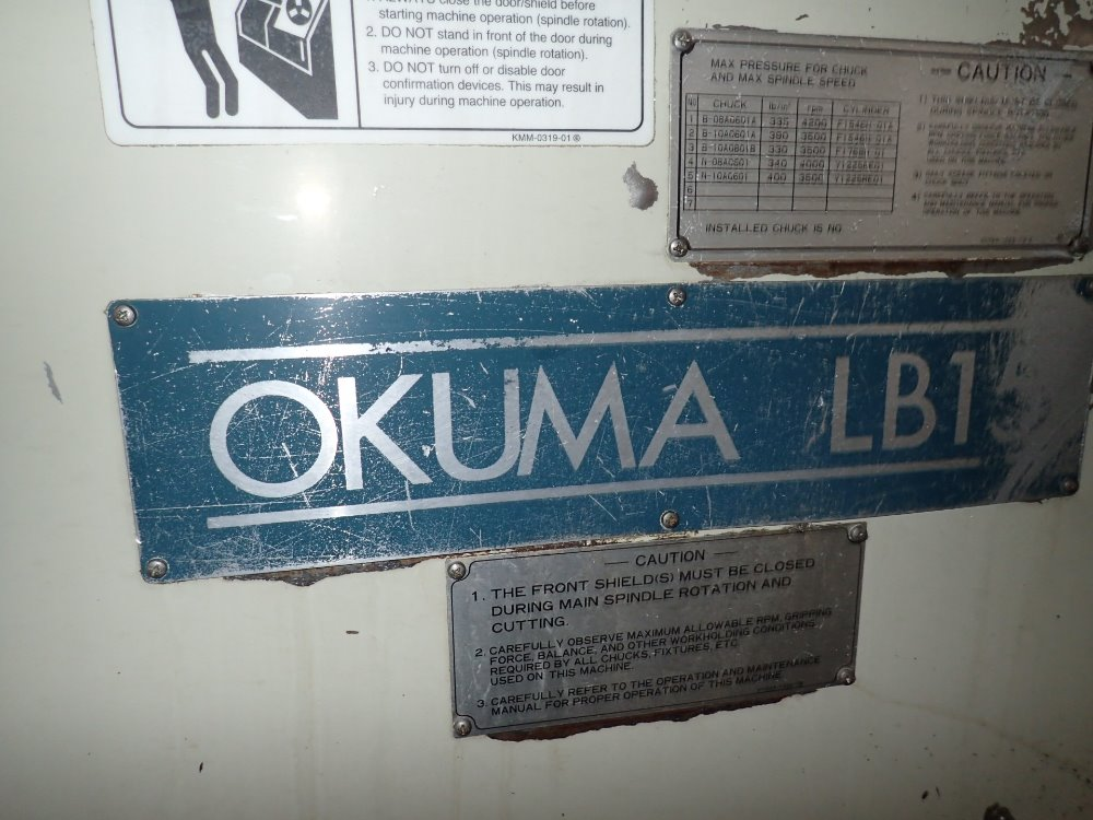 okuma machine tools