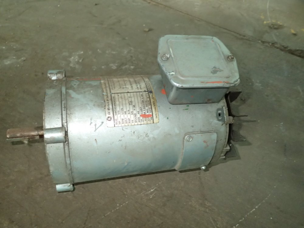 Used General Electric Dc Motor Hgr Industrial Surplus