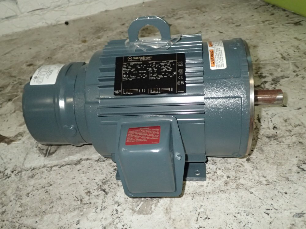 Used marathon electric motor hgr industrial surplus for Used industrial electric motors