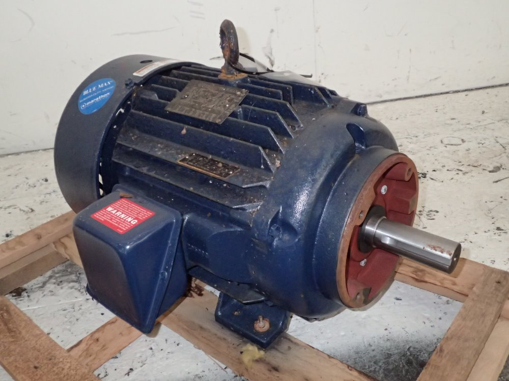 Used marathon electric motor hgr industrial surplus for Marathon electric motors model numbers
