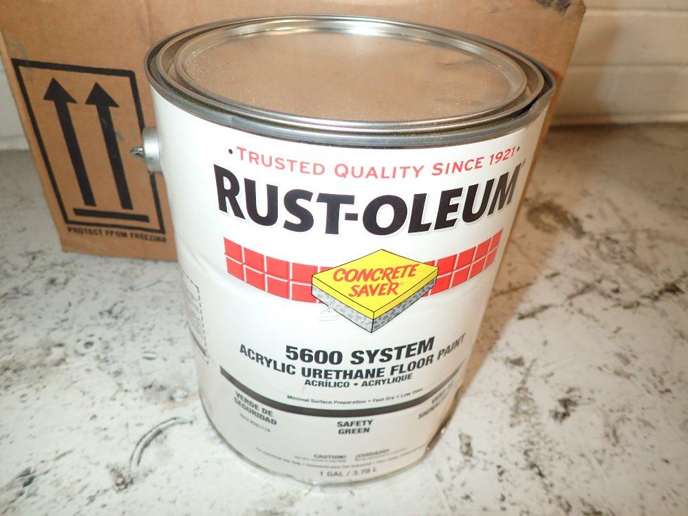 Used Rust Oleum Acrylic Urethane Floor Paint Hgr Industrial Surplus
