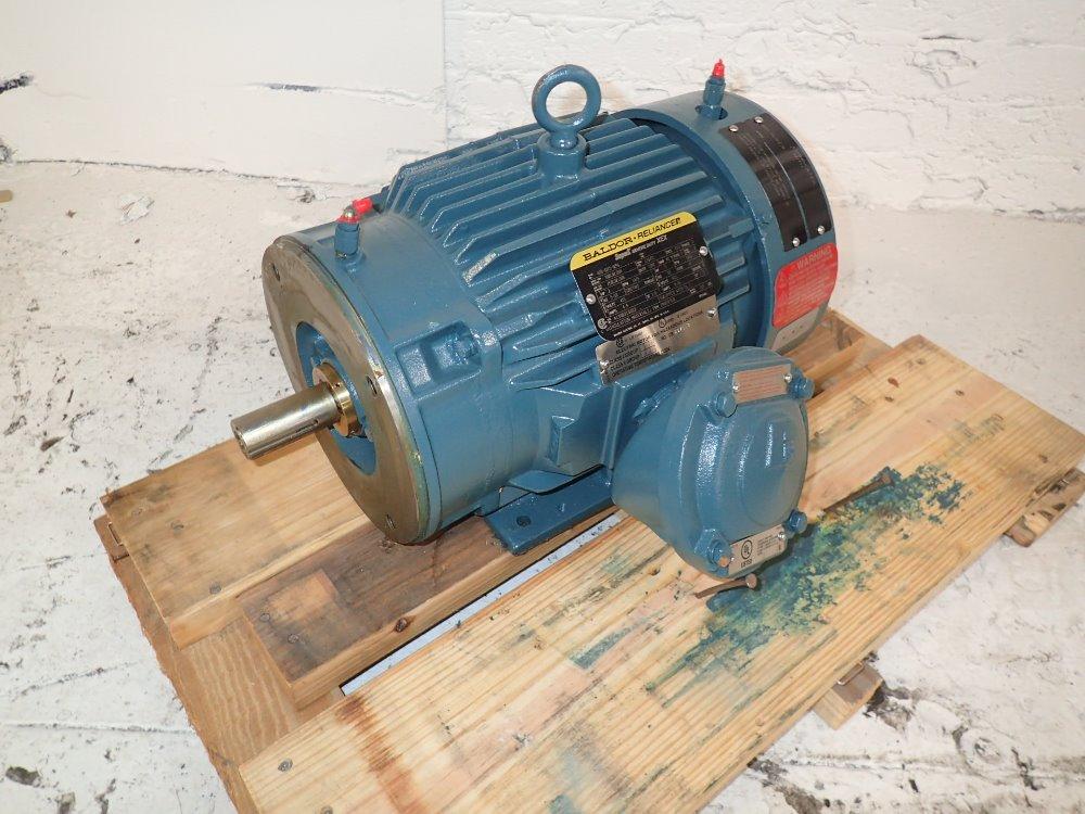 Used Baldor Reliance Motor Hgr Industrial Surplus