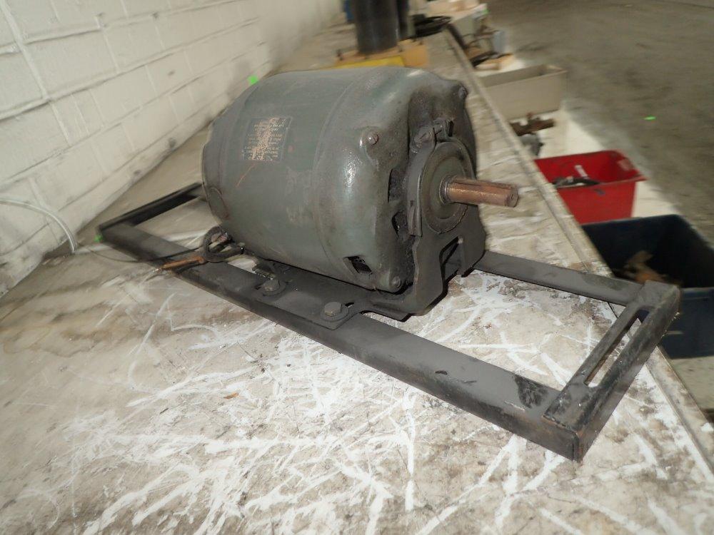 Used century motor on base hgr industrial surplus for Century electric motor serial number lookup