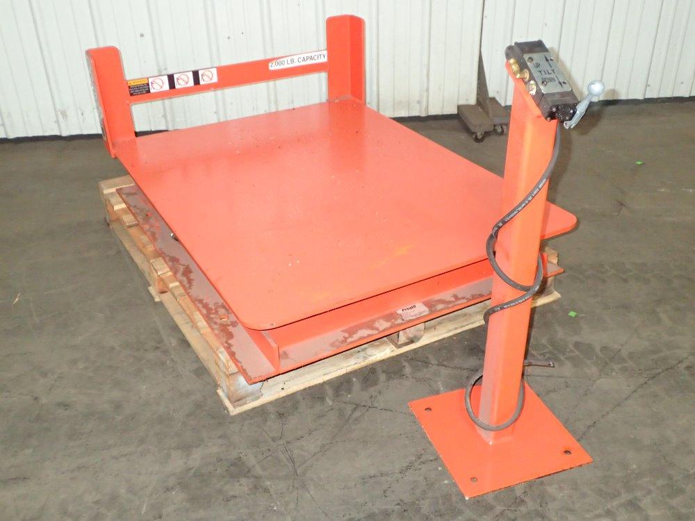 Presto Lift Tables : Used presto lift table hgr industrial surplus