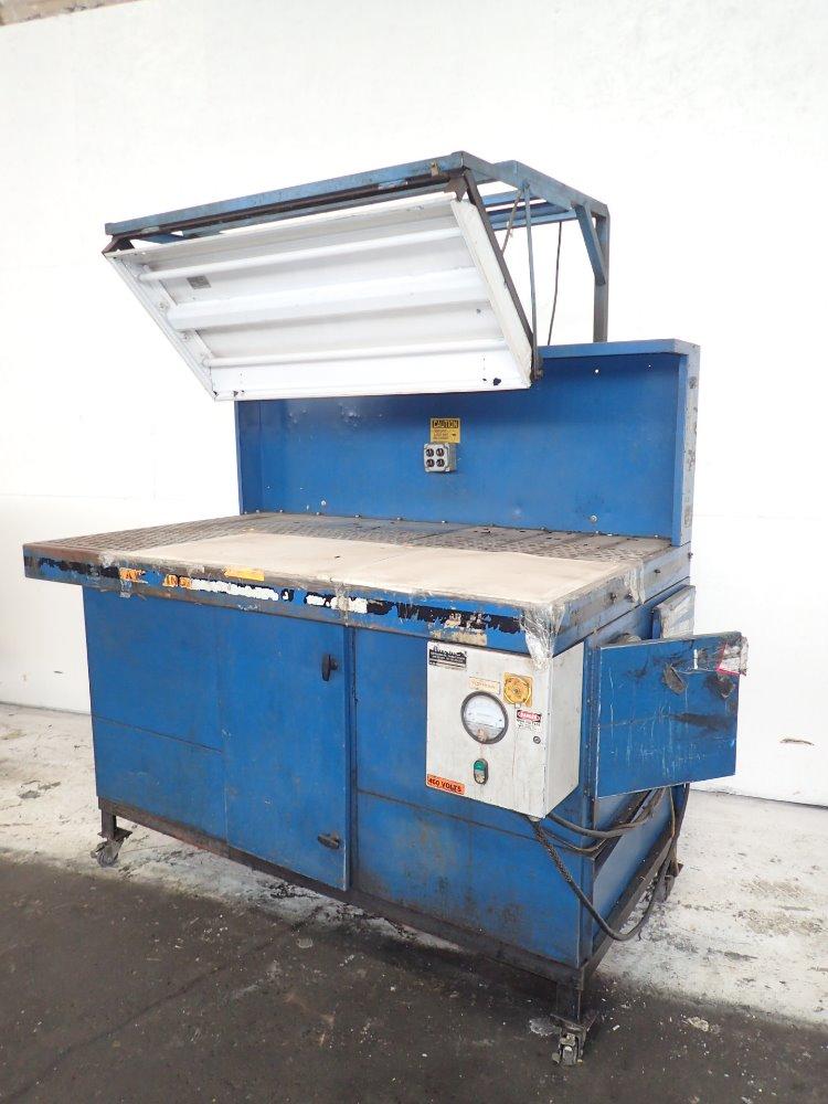 Portable Downdraft Bench : Used donaldson torit portable downdraft table hgr