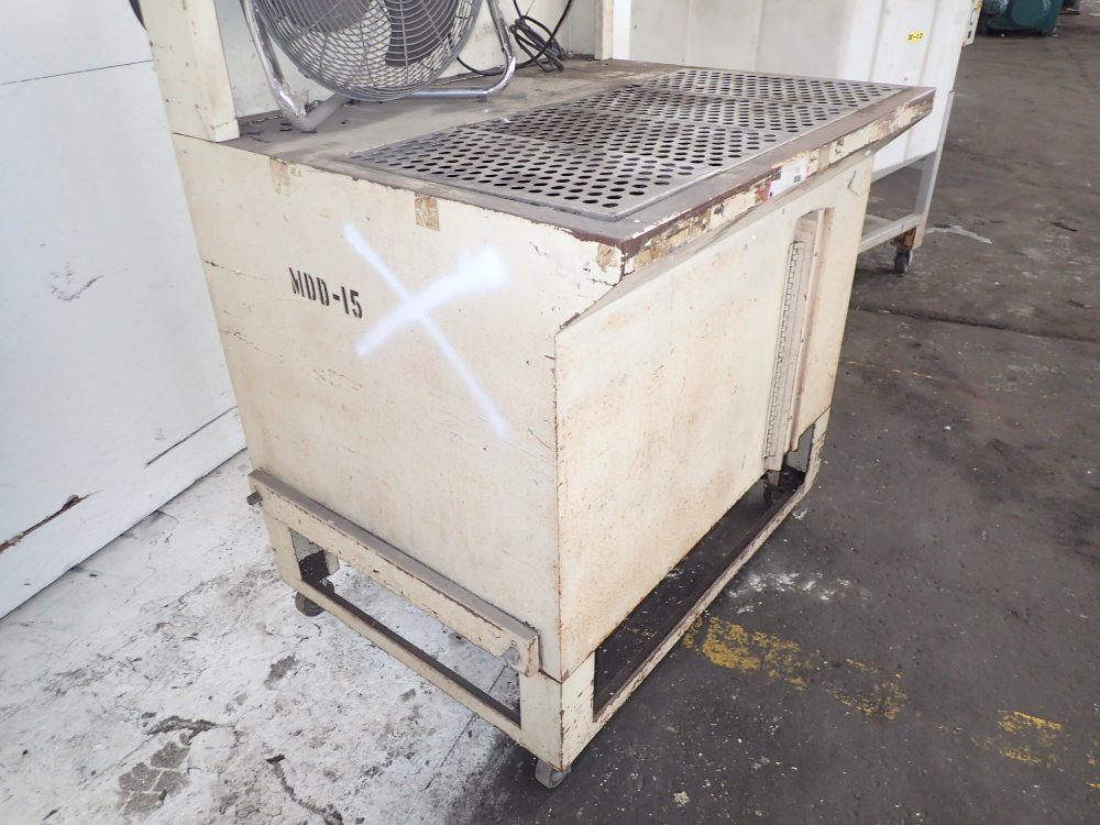 Portable Downdraft Bench : Used portable downdraft table hgr industrial surplus